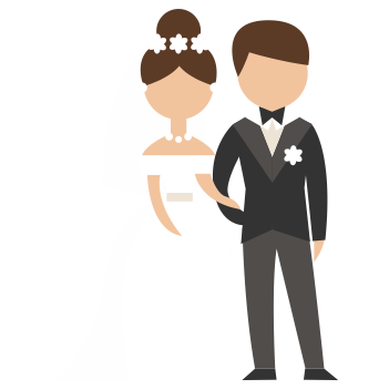 Caneca para casamento